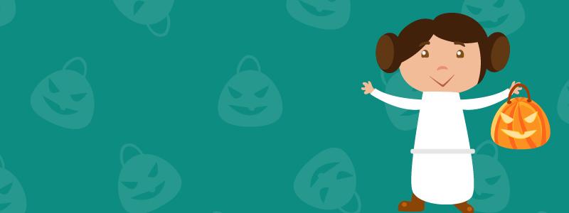 costumes d'halloween faciles princesse leia
